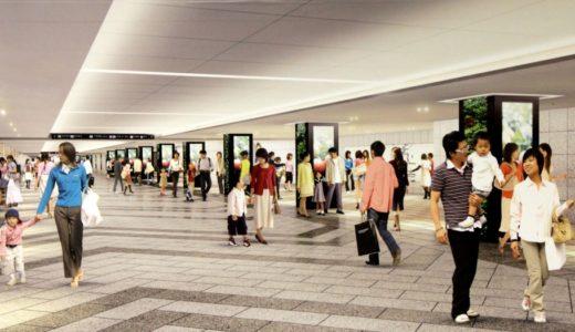 大阪駅前1号線整備事業および大阪駅前地下道改良事業の状況 15.12