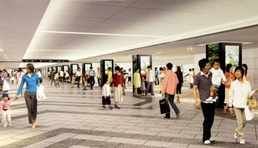 大阪駅前1号線整備事業および大阪駅前地下道改良事業の状況 16.06