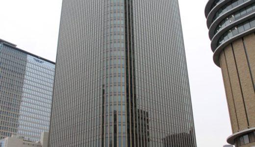 竣工直前の中之島フェスティバルタワー・ウエストの状況 17.03