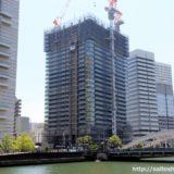 日本一の免震タワーマンション「ザ・パークハウス中之島タワー」の状況16.05