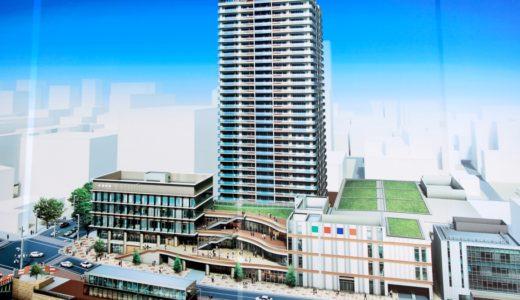 プラウドタワー名古屋栄(納屋橋東第1種市街地再開発事業)の状況 16.05