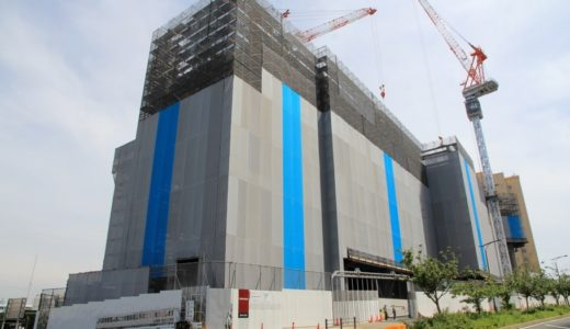 オリックスがUSJ近くで計画している新ホテル(仮称)島屋6丁目計画の状況 17.06