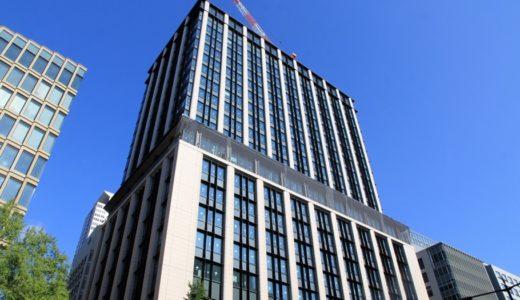 三菱東京UFJ銀行大阪ビル本館の建設工事の状況 17.09