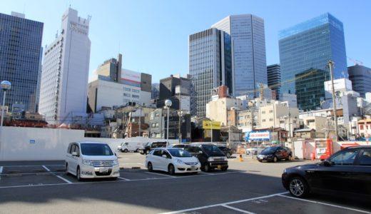 梅田曽根崎にあった「謎の廃墟ビル」の解体工事が完了
