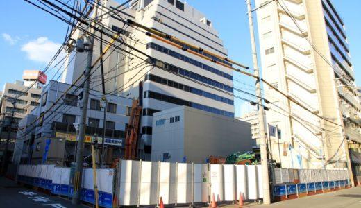 「WBF新大阪ホテル」地上32階建て、高さ105m、日本一細い超高層タワーホテル計画の状況 17.10