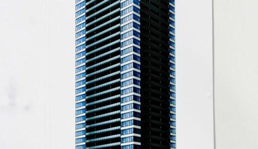 グランドメゾン新梅田タワーの建設状況 17.03