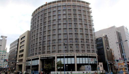 旧トーコーシティホテル梅田跡に建設中の新ホテル、プレミアホテル -CABIN- 大阪は2017年4月26日にオープン!