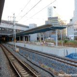 おおさか東線新大阪駅構内改良工事 17.10