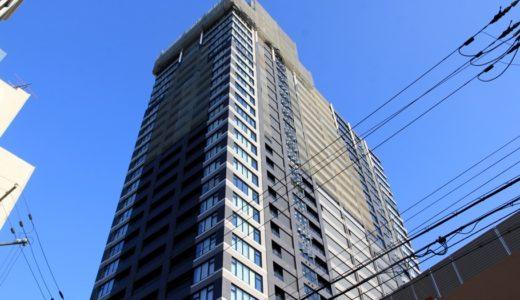 プレサンス レジェンド 堺筋本町タワーの建設状況 17.09
