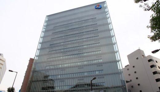 大阪商工信用金庫新本店ビルの建設状況 17.07