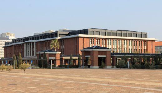 竣工した神戸学院大学ポートアイランドキャンパスD号館