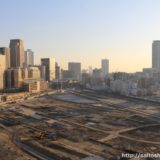 うめきた二期地区として再開発が予定されている「JR貨物梅田駅」解体工事 14.03