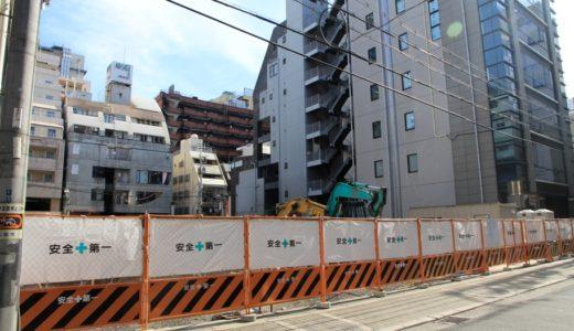 (仮称)中央区西心斎橋一丁目集合住宅 新築工事の状況 16.07