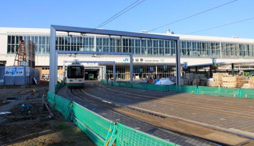 富山駅付近連続立体交差事業ー北陸新幹線高架下に乗入れた富山地鉄市内電車