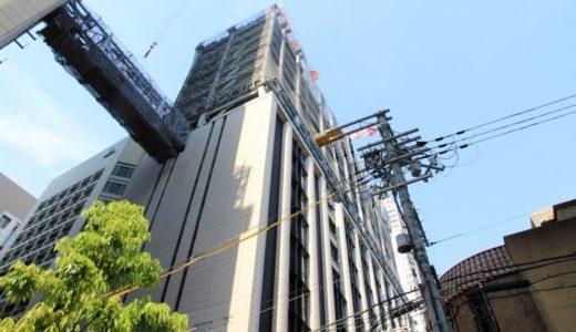 三菱東京UFJ銀行大阪ビル別館の建設工事の状況 17.05