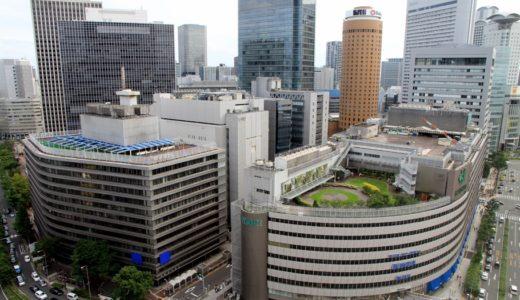 阪神百貨店を建て替える梅田1丁目1番地計画の状況 14.07