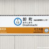 仙台市地下鉄 東西線全駅レポート~T11:卸町駅
