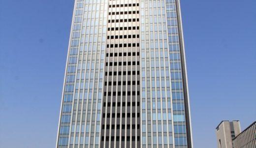 竣工したグローバルゲートの状況 17.04 〜高層タワー エントランス・ロビー編〜