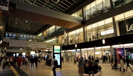 「杜の陽だまりガレリア」完成した仙台駅東西自由通路は幅16m、3層吹抜けの大空間!(Ver.夜)