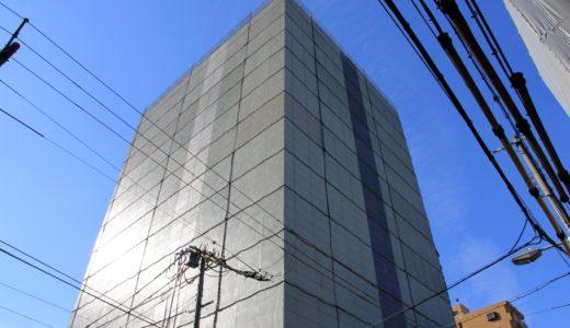 積水ハウスが取得した旧総通本社ビルの解体工事の状況 14.12