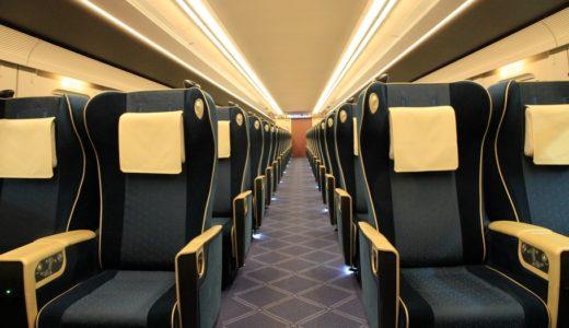 北陸新幹線ーE7系・W7系電車(グリーン車の車内編)