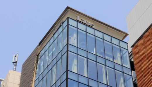 Luxe茶屋町(リュクス茶屋町)はNu茶屋町エントランス北側に出来る新しい商業ビル