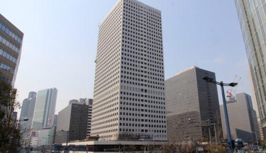 大阪駅前第3ビルが白色に大変身!第3ビル外壁の大規模リニューアル工事が進行中!17.03