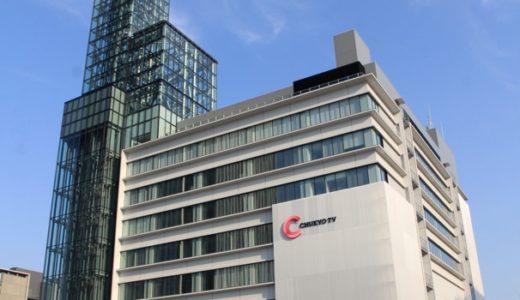 ささしまライブ24地区東街区で工事が進む「中京テレビ放送新社屋」16.08