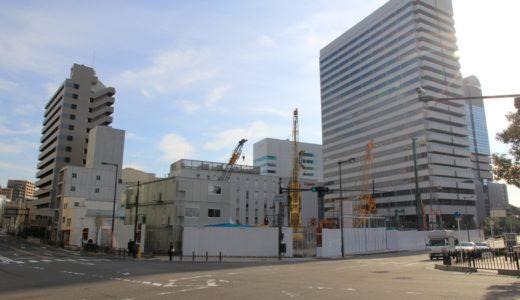 (仮称)大阪市北区中之島6丁目計画の建設状況 14.12