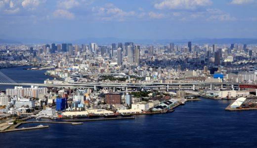 コスモタワーから見た大阪都心2017