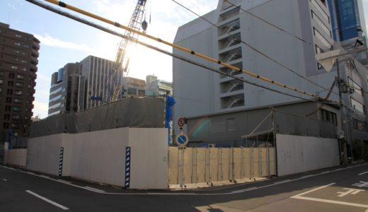 (仮称)南森町 免震タワープロジェクトの建設状況 14.12