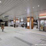 祝高架化完成!JR阪和線-東岸和田駅高架化工事の状況(コンコース編) 17.11