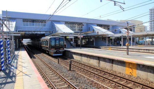 JR神戸線-尼崎駅改良工事 14.07