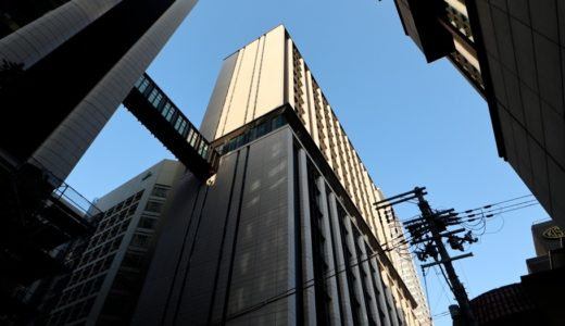 三菱東京UFJ銀行大阪ビル別館の建設工事の状況 17.11