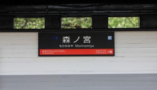 大阪環状線改造プロジェクトー森ノ宮駅リニューアル工事(案内サイン編) 14.08
