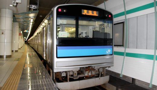 JR東日本ー205系3100番台(仙石線)