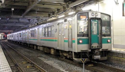 JR東日本ー701系電車