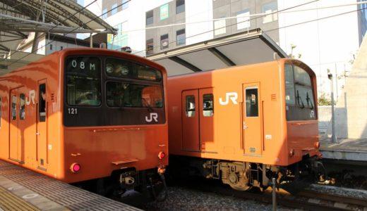 大阪環状線でラッシュアワーに3ドア車を集中的に運用する実験を実施、新型車両は3ドア車に統一される?