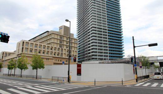 ジオ高槻ミューズスイート計画は住居・福祉ビルから分譲マンションに変更、9月にも工事が再開!