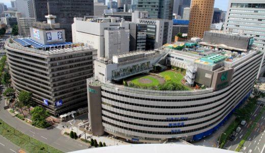 阪神梅田本店建替えの工事施行計画が決定、1期工事は2018年春、2期工事は2021年秋に竣工!