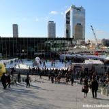 今年もうめきた広場にスケートリンクが登場!「ウメダ☆アイスリンク つるんつるん」は2018年3月4日(日)まで開催!