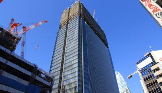 JPタワー名古屋(名駅一丁目計画)の建設状況 15.01