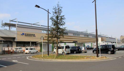 JR阪和線-東岸和田駅下り線ホームが2015年2月8日から高架化!