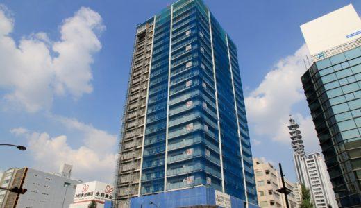 ザ・パークハウス 久屋大通 ローレルタワーの建設状況 14.09