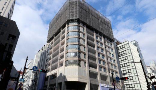 クレヴィアタワー大阪本町の建設の状況 18.01