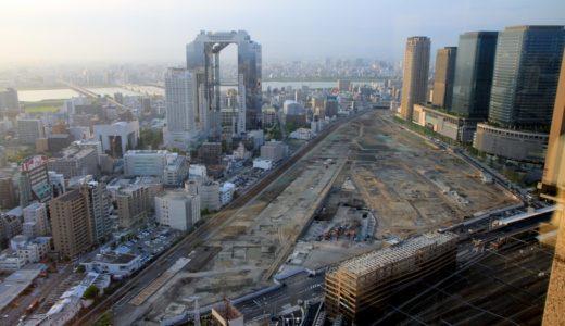 うめきた二期地区として再開発が予定されている「JR貨物梅田駅」解体工事 14.06