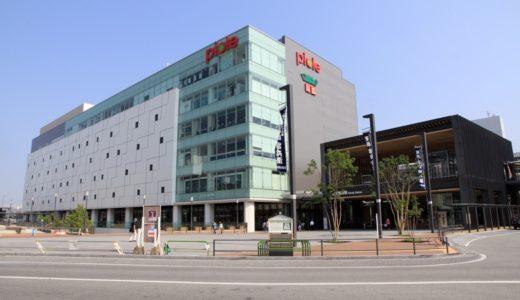 姫路駅北駅前広場に整備された眺望デッキ「キャッスルビュー」