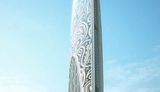 ムンバイの新しいユニークな超高層ビル「ナマステタワー」