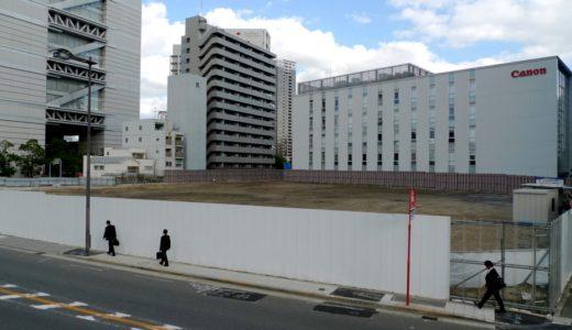 (仮称)大阪市北区中之島6丁目計画の建設状況 14.10