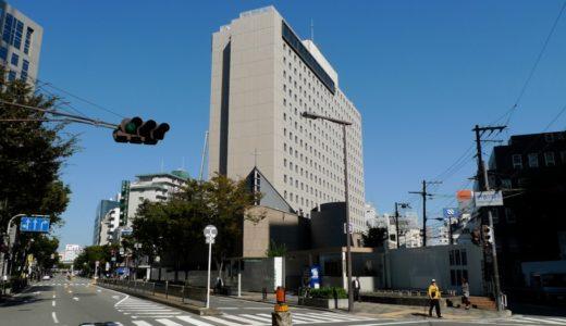 ラマダホテル大阪跡の状況 14.10